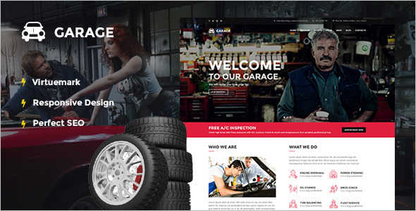 Professional Automotive Joomla Template