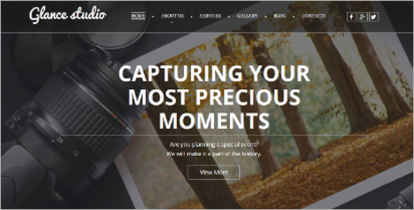Professional Photo Gallery Bootstrap Templates