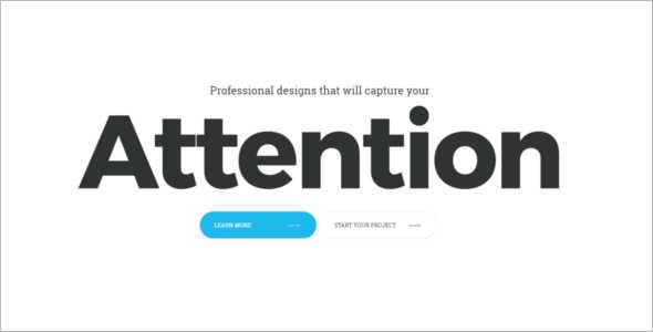 Professional Studio Website Template
