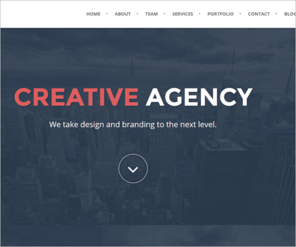 Professional Weebly Template