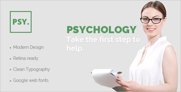 Psychologist Joomla Model Template