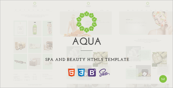 Reactive Spa and Beauty HTML5 Template