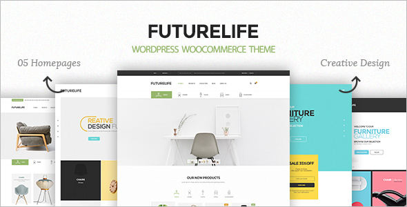 Reactive WordPress Woocommerce Theme