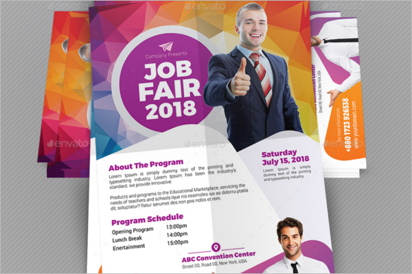 Recruitment Expo Upright Flyer
