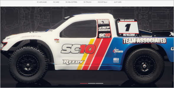 RemoteControlled Toys Magento Template