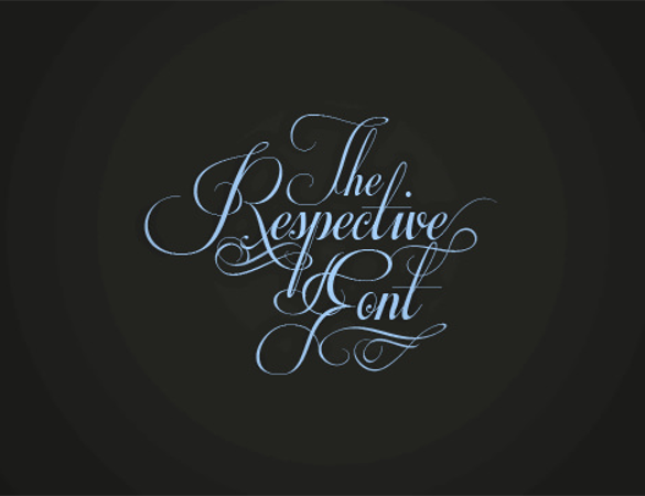 Respective Free Exclusive Font