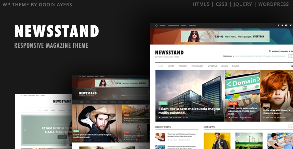 Responsiv Editorial WordPress Theme