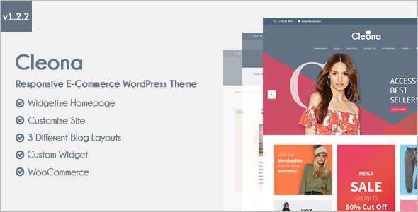 Responsive E-Commerce WordPress Theme