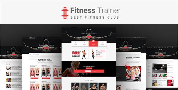 Responsive Fitnress Website Template