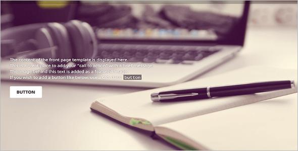 Responsive Goran WordPress Template-Free