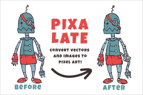 Responsive Pixel Art Design