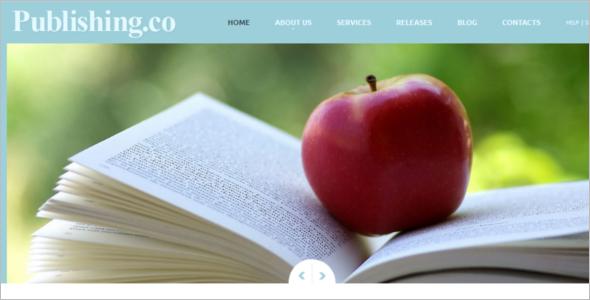 Responsive Publishing Joomla Template