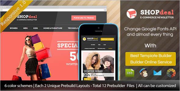 Responsive Retail HTML Template