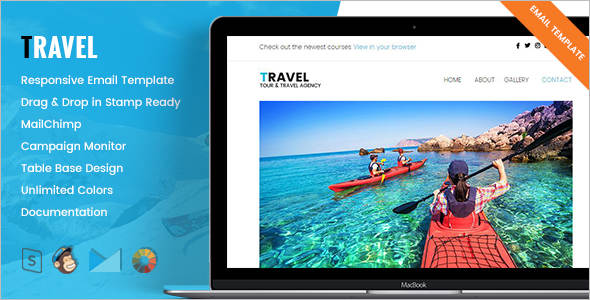 Responsive Travel Email Template
