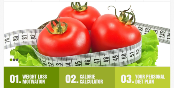 Responsive Weight Loss WordPress Template