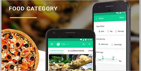 Restaurant App UI Design