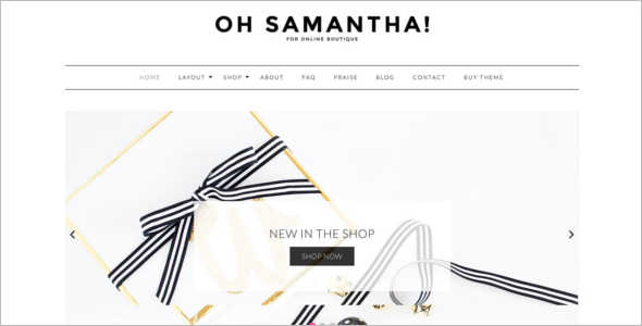 Retail Blogging WordPress Theme