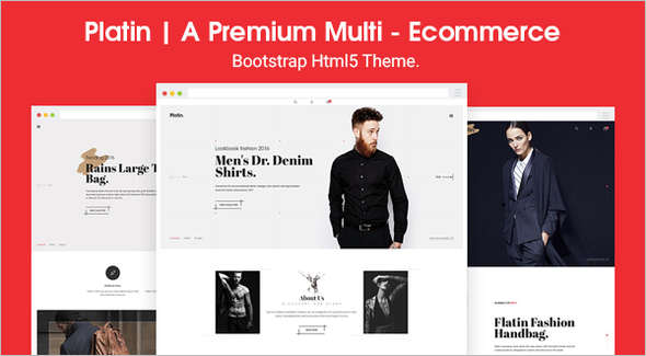 Retail Shopping HTML Template