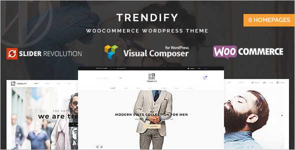 Retail WordPress Theme Model