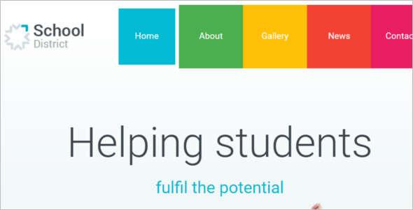 School Education Blog Template