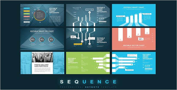 Sequence Infographic Design Template