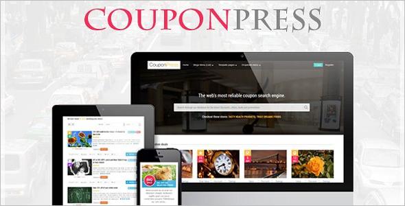 Simple Coupon WordPress Template