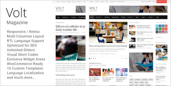 Simple Editorial WordPress Theme