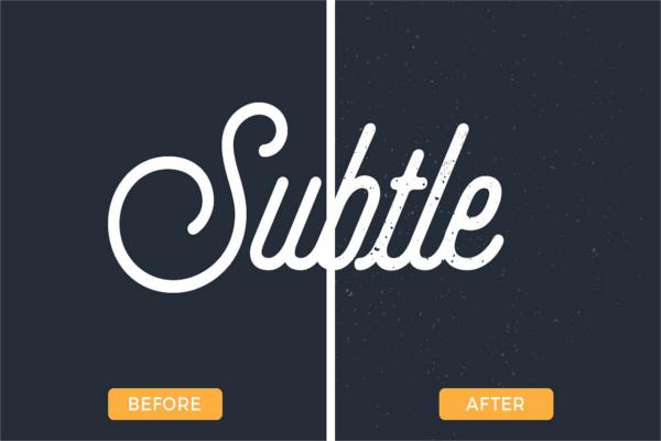 Simple Illustrator Subtle Texture Design