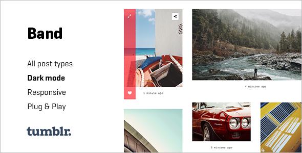 Simple Photography Tumblr Theme