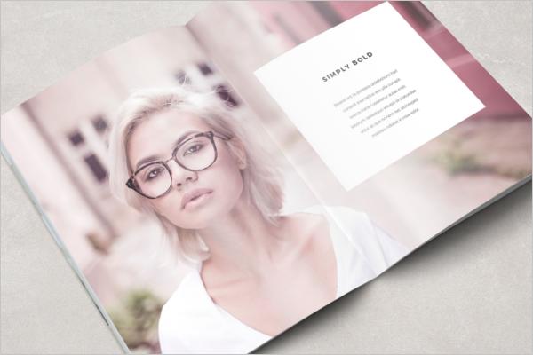 Simplistic Boho Magazine Template
