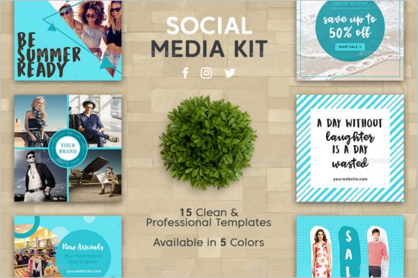 Social Media Banners Kit Promo