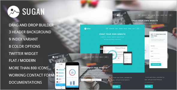 Software App Mobile WordPress Theme