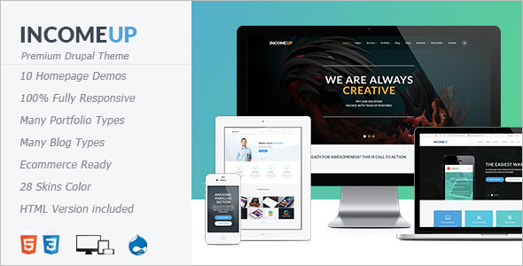 Software Income Drupal Template