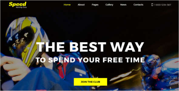 Speed Racing Joomla Template