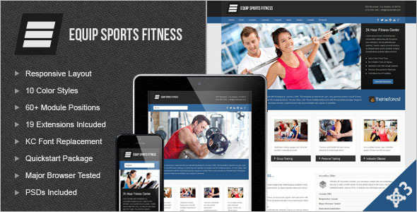 Sports Publisher Joomla Template