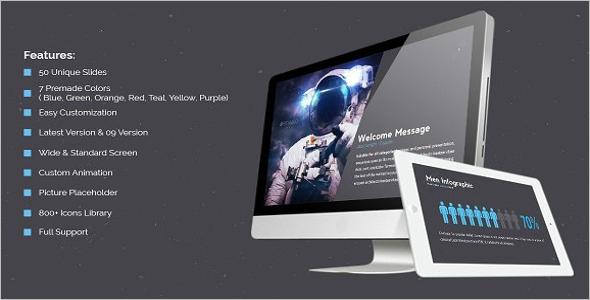 Starcraft Latest Design Keynote Template