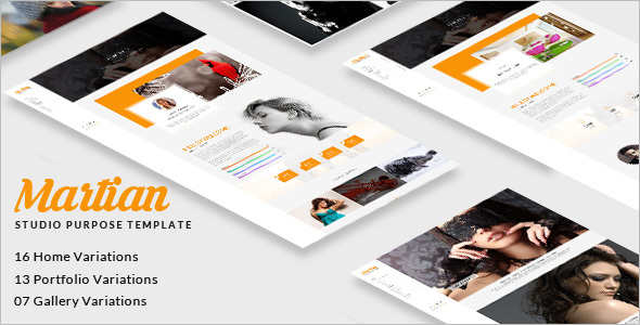 Studio HTML Website Template