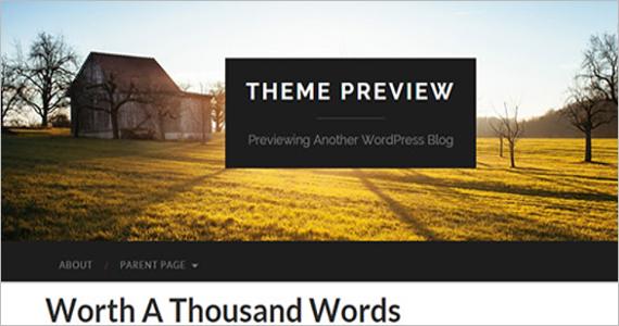 Stunning Free WordPress Template