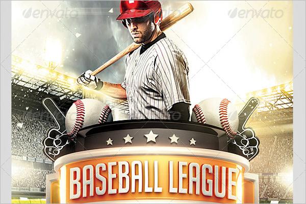 Stunning League Tournament Flyer