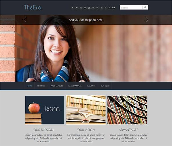 Stunning Weebly Themes
