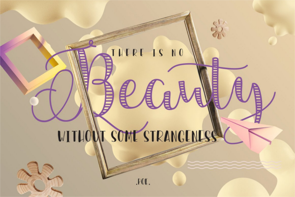 Stylish Caligraphy Fancy Font