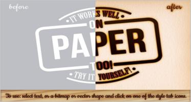 Superb Burnt Paper Design