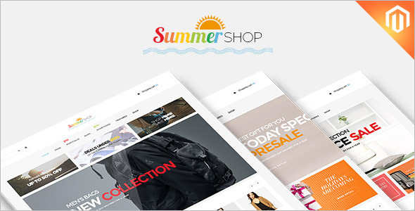 Summer Toy Shop Magento Template