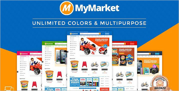 Supermarket Magento Template