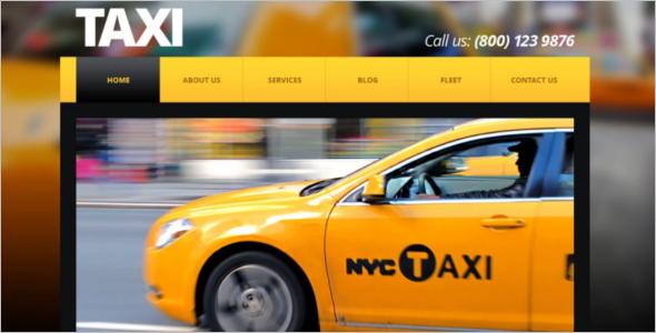 Taxi Center Company Joomla Template