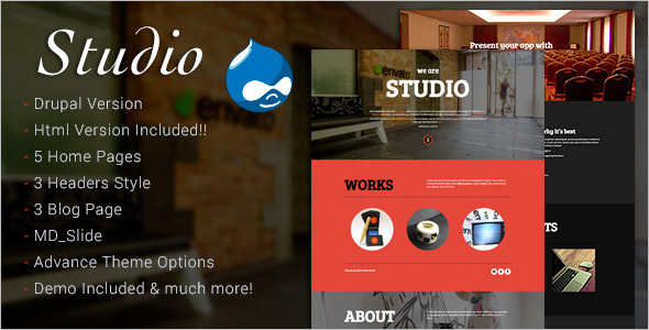 Technology Design Studio Drupal Themes