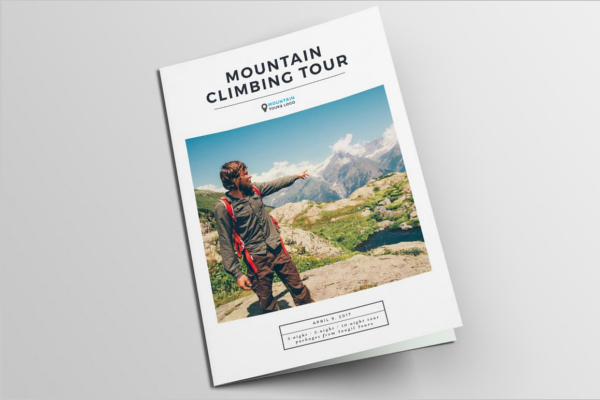 Tourist Invitation Brochure Design