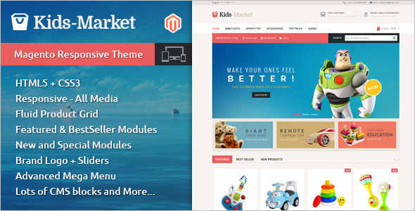 Toy Store Market Magento Template