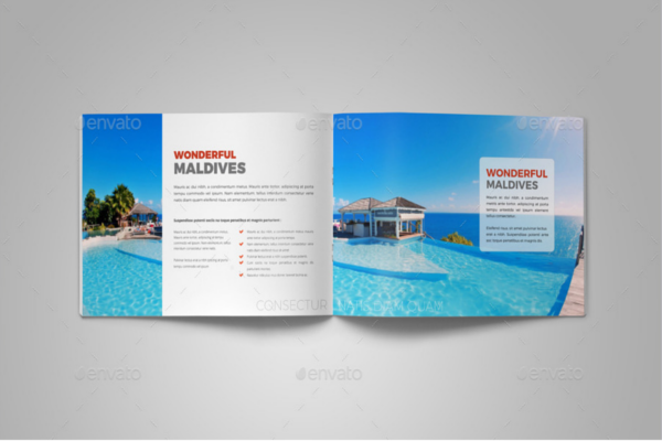 Travel-Agency Catalog Design