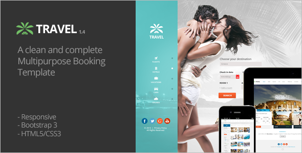 Travel Deal Website Template